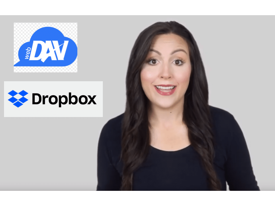 DropBox WebDAV - 95% Rating for Quick Easy Connections
